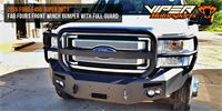 2016-Ford-F450-Super-Duty-Fab-Fours-Front-Winch-Bumper-with-Full-Guard
