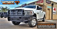 2015-Ram-2500-Laramie-Limited-2.5-inch-leveling-kit-and-Frontier-Front-Bumper