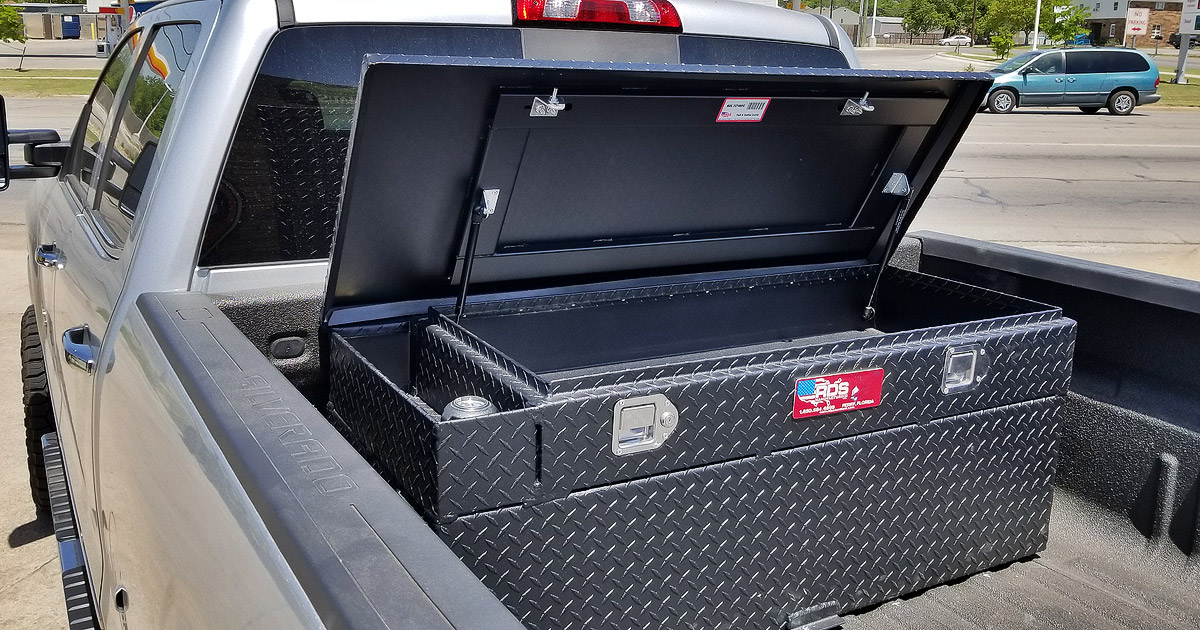 Truck Bed Tool Boxes And Fuel Transfer Tanks Weatherford