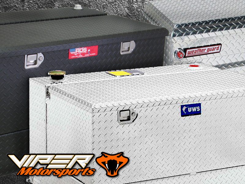 UWS, RKI & Weatherguard Truck Bed Tool Boxes - Weatherford Texas