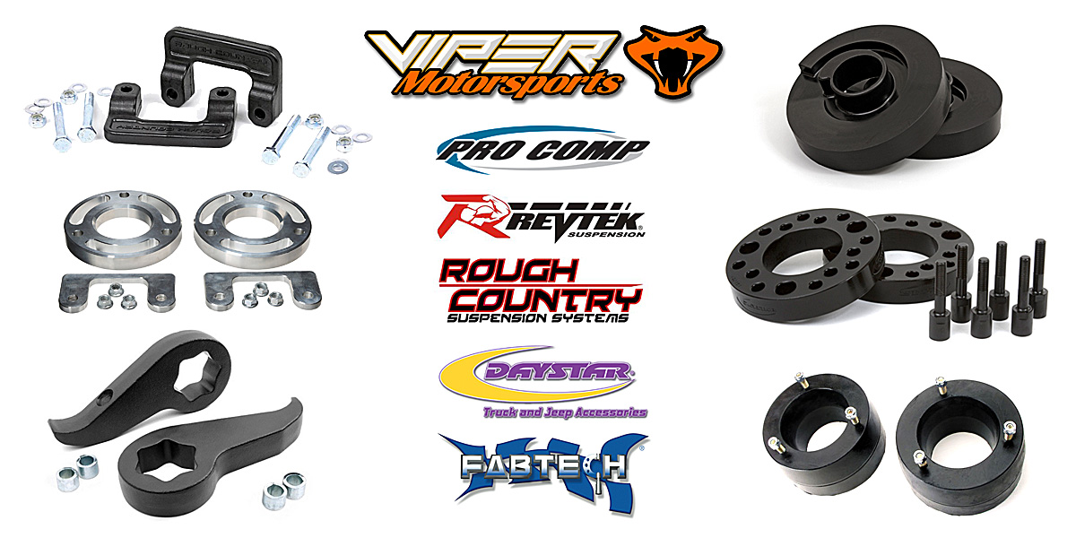 4WD and 2WD Leveling Kits Viper Motorsports Weatherford TX