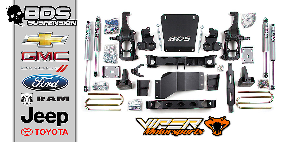 BDS Suspension Lift Kits at Viper Motorsports - Weatherford Texas
