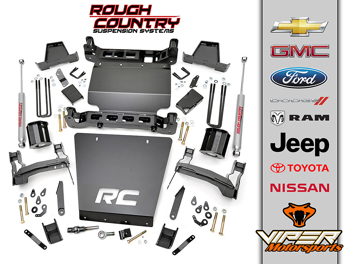 Rough Country Lift Kit Chevy Ford Jeep Dodge Toyota At Viper Motorsports Weatherford Tx